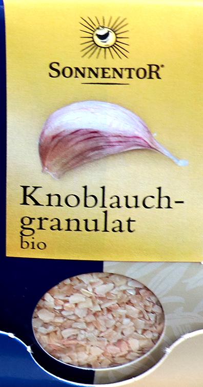 ガーリック ドイツ語