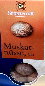 ナツメグドイツ語で