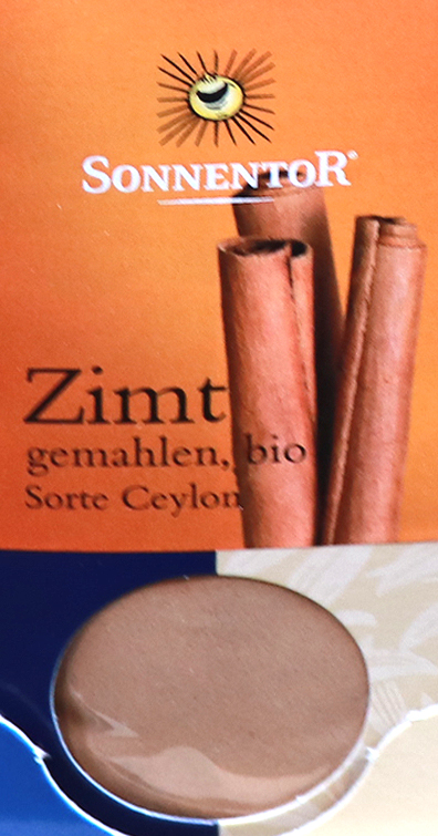 シナモンドイツ語